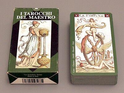 1893 REPLICA VACCHETTA  78 CARD DECK - TAROT OF THE MASTER - NIB