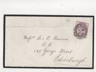 Crieff [E] 84 Scottish Postmark 2 May 1888 QV Cover 601b