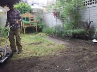 keen gardener looking for year round work