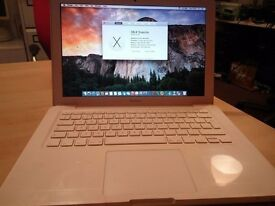 "Apple MacBook 13"" Unibody Core 2 Duo 2.26GHZ 4GB 128gb ssd hdd"