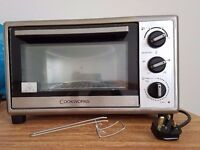 Cookworks mini oven - Stainless Steel - like new