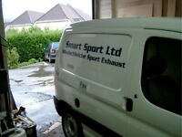 VAN SIGNS AND VEHICLE LIVERY GRAPHICS VINYL LETTERS OR MAGNETICS AND WRAPS