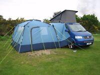 Kyham motordome classic free standing camper motorhome awning