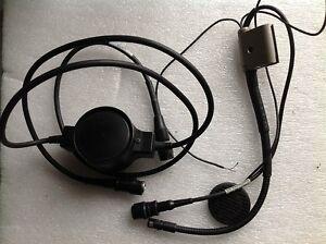 Hör-/Sprechgarnitur Headset für Polizeihelm Gallet Bereitschaftspolizeihelm