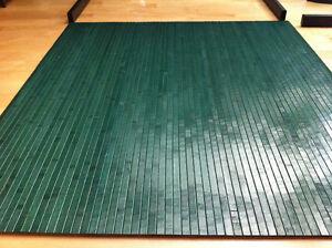 bamboo chair mat office floor mat wood floor protector monta green desk hardwood ebay. Black Bedroom Furniture Sets. Home Design Ideas