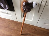 Soft hobby horse with sounds