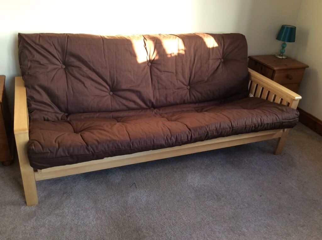 Kyoto Nashville 3 Seater Futon Sofa Bed As New