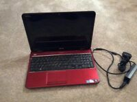 Dell Laptop...Red
