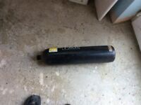 Empty steel cylinder fire extinguisher
