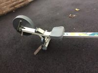 Chain driven rowing machine