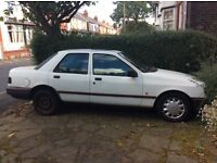 G Reg Ford Sierra Sapphire driveable but no MOT. Selling for restoration or parts.