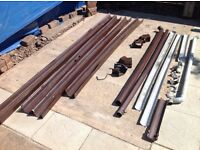 FREE GUTTERING, suitable for shed or allotment.