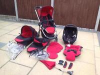 iCandy Travel System - Black/Red