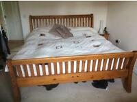 Solid Wood Bed Frame *offers accepted*