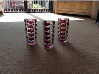 Lovely glass vases