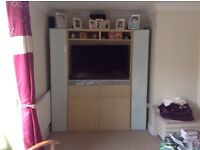 IKEA tv unit with lots of storage