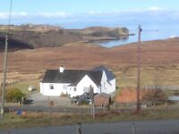 3 bed house with spectacular sea views Colbost , Glendale , Isle of Skye