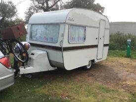 Brand new two birth Robin caravan