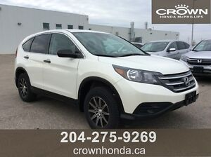2014 HONDA CR-V LX - ONE OWNER, LOCAL TRADE, REMOTE START