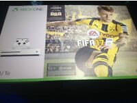 Microsoft Xbox one with Fifa 17 download brand new in box Unwanted gift