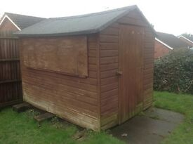 Wooden 8ft X 6ft Shed