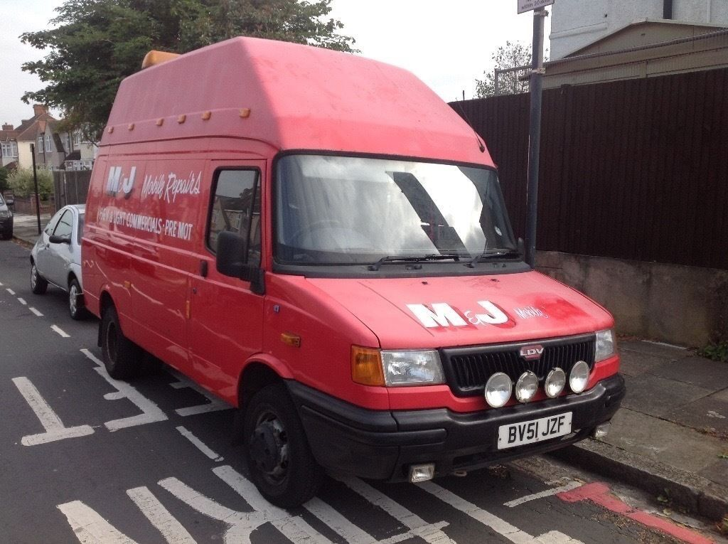 Ldv convoy 2002 van full years mo't one owner from new 57,000 miles transit 2.4 engine
