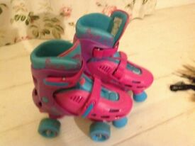 sfr adjustable size hurricane roller boots 12-2