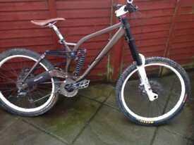 Kona Stab Supreme Downhill Bike,