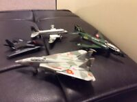 4 collectible planes for sale £15 for all 4