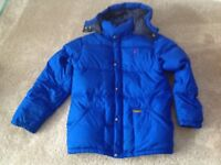 Ralph Lauren royal blue bubble jacket XLB
