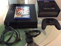PlayStation 4 500GB + Revolution Controller Gran Turismo Sport