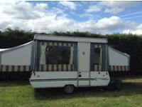Conway Tardis 6 berth hard top trailer tent/camper