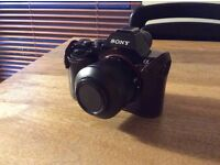 Sony Alpha A7 Compact System Mirrorless Camera + Case, Great Condition (654£, ONO)