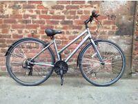 Trek 7100 ladies hybrid bike