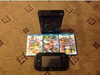 MINT CONDITION WII U WITH 3 EPIC GAMES
