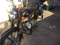 Royal Enfield 350 bullet one reg owner