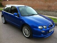 2002 MG ZR 1.4 **EXCEPTIONAL COLLECTORS CLASSIC CAR CONDITION**31K**FMDSH**CAMBELT CHANGED**