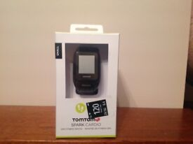 TOMTOM GPS FITNESS WATCH - SPARK CARDIO (Boxed)