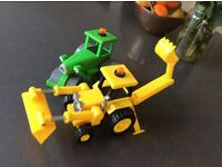 Bob the builder toy digger and roller