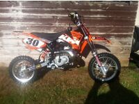 ktm sx 50 pro 2008 absolutely mint !!!!