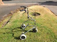 Wheeltech Tri wheeled Aluminium Walker