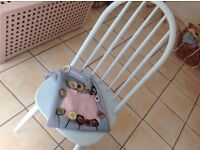 Bespoke Ercol style dining chair Upcycled Pale Blue Gorgeous