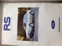 Ford RS Cosworth Edition 1 Brochure - Excellent Condition