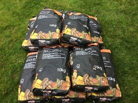 Hi I'm selling stock of bar be quick 10kg bags of charcoal briquettes ,