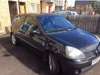 RENAULT CLIO 1.2 DYNAMIC £600- 7 MONTHS MOT - 1ST TO SEE WILL BUY