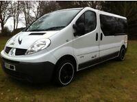 Renault Trafic Day Van Camper Motorhome