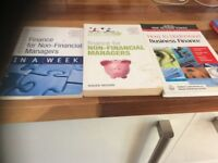 3 great Finance books for student or new to business persons!