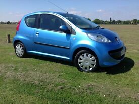 Peugeot automatic 107 1 lady owner from new 998cc ,hpi clear🚗🚙🚗