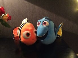 Build a Bear Dory and Neemo £12