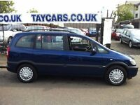 2004 7 SEATER VAUXHALL ZAFIRA ONLY £1495!!!